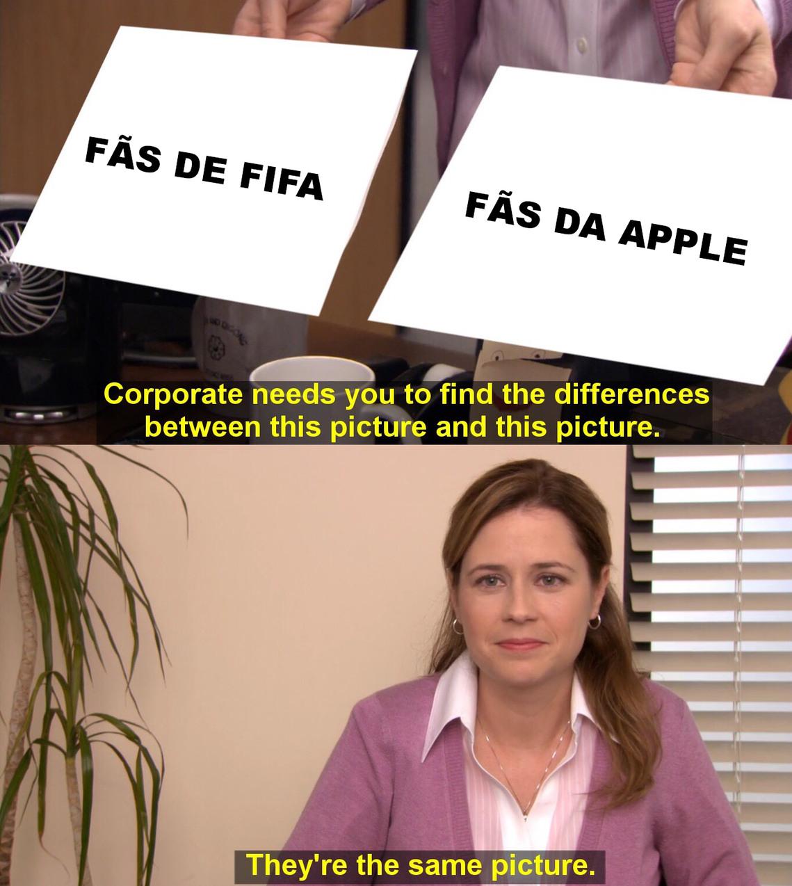 Aceitam a mesma merda todo ano - meme