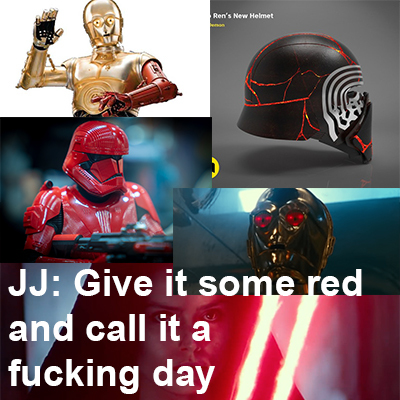 star wars red shit - meme