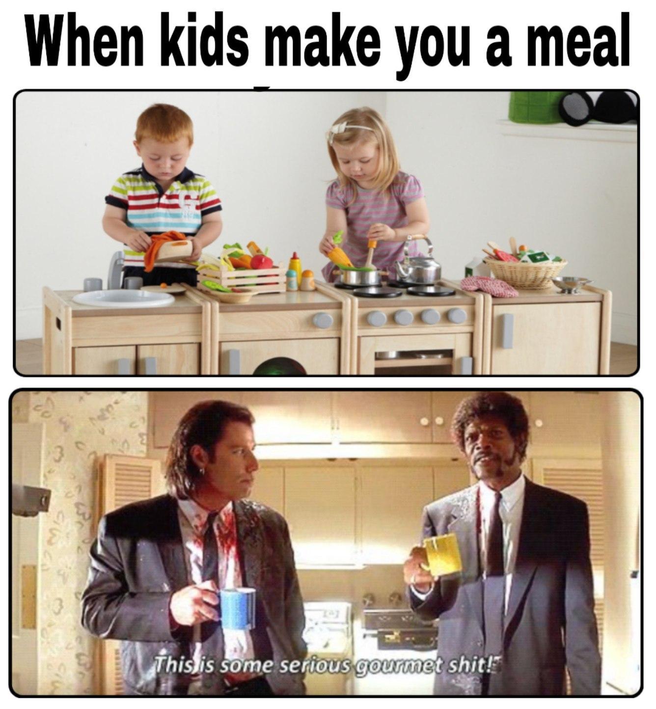 Gourmet shit - meme