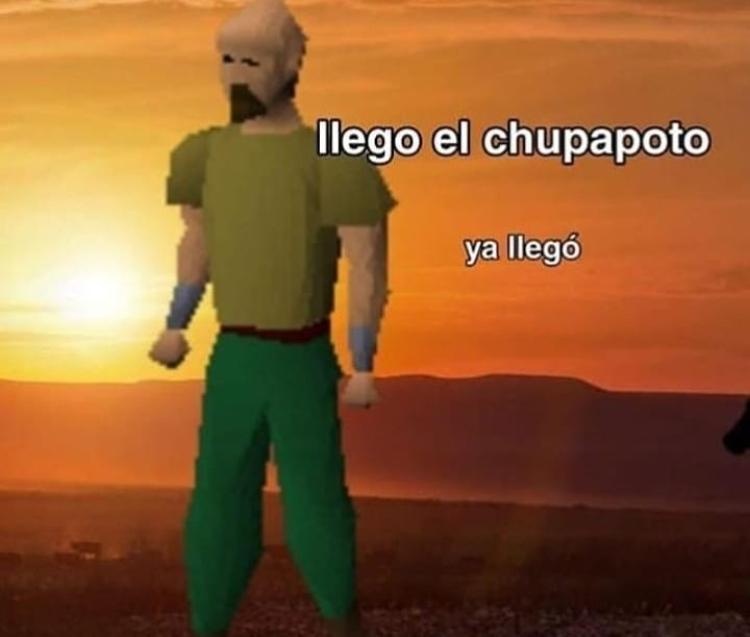 soiyo el chupapoto - meme