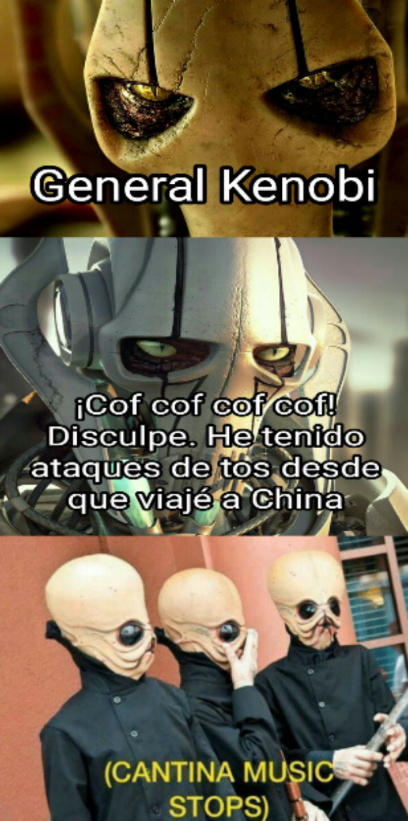 Covid wars - meme