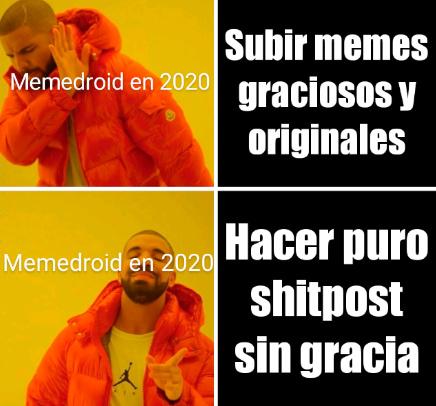 Cada vez más estúpido el shitpost - meme