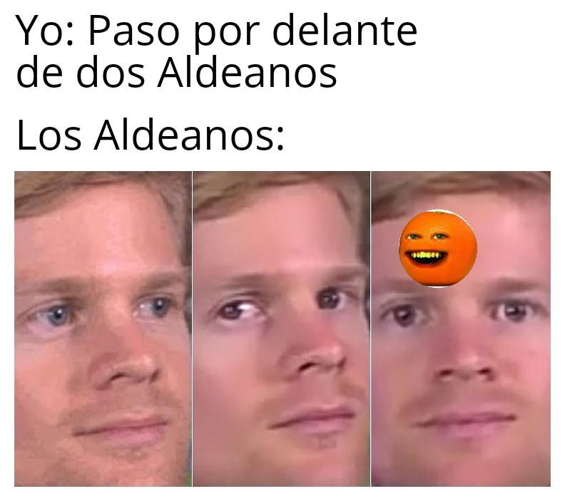 Aldeanos - meme