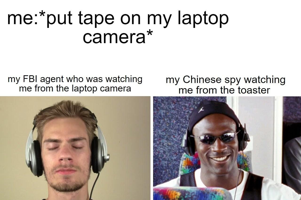 Hacker de torradeira - meme