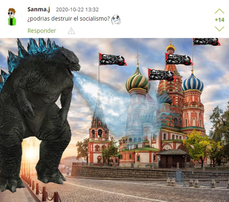 Solicitado por Sanma.j *Es una realidad alterna de rusia comunista* - meme