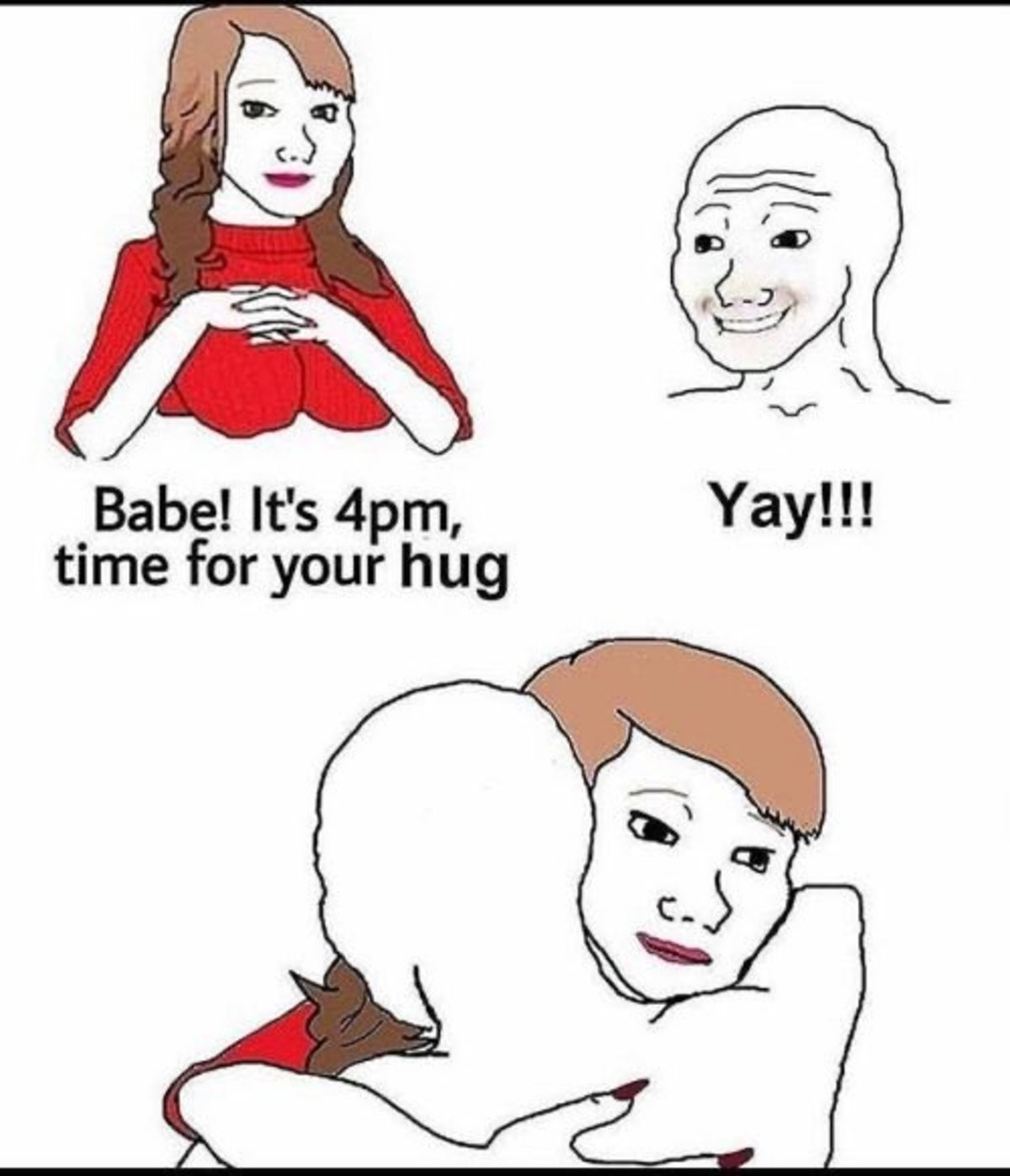 :) hihi - meme