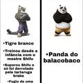 Um pandinha da pesada