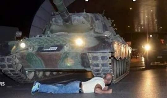 Jailson contra o golpe na Turquia - meme