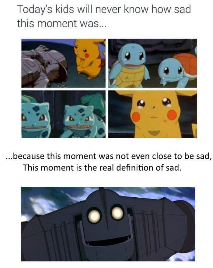 The most sadness scene ever - meme