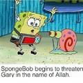 Ele esqueceu de colocar a bomba no Gary
