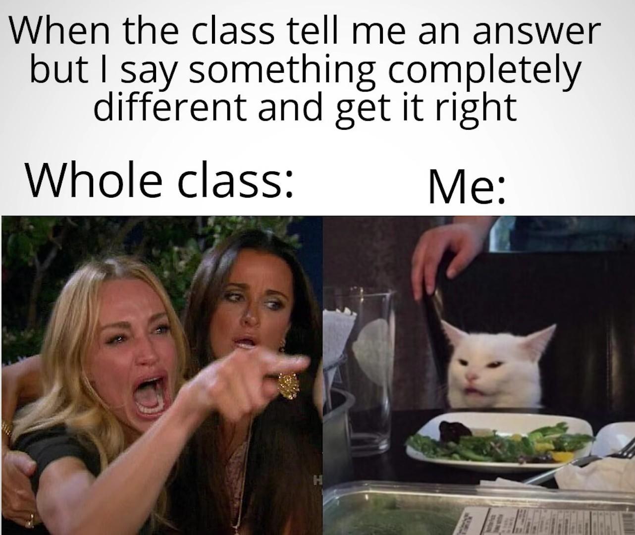 You right - meme