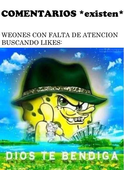 DIOS TE BENDIGA (inserta emoji rezando) - meme