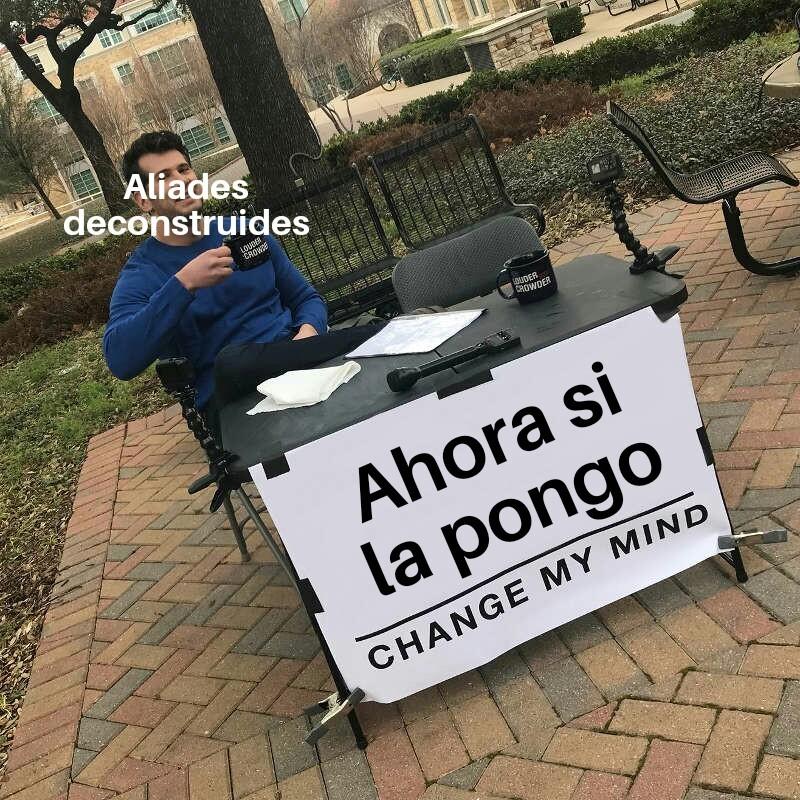 El título se volvió aliade - meme