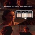 I hate sand
