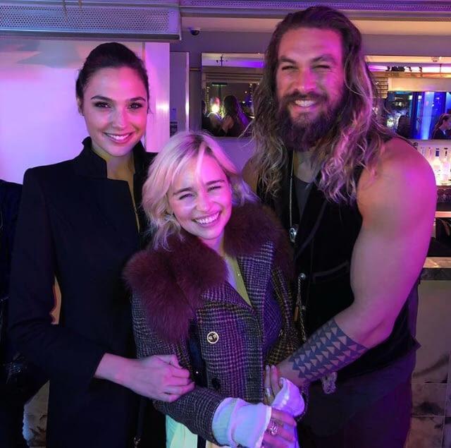 Wonder Woman, Khaleesi and Aqua Drogo - meme