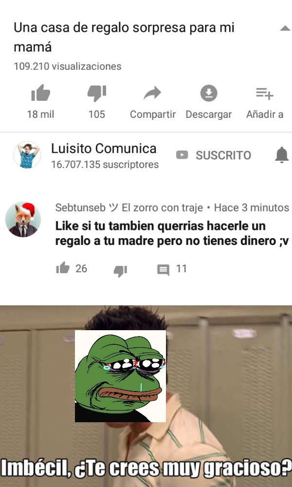 Sad men borra eso >:'u - meme