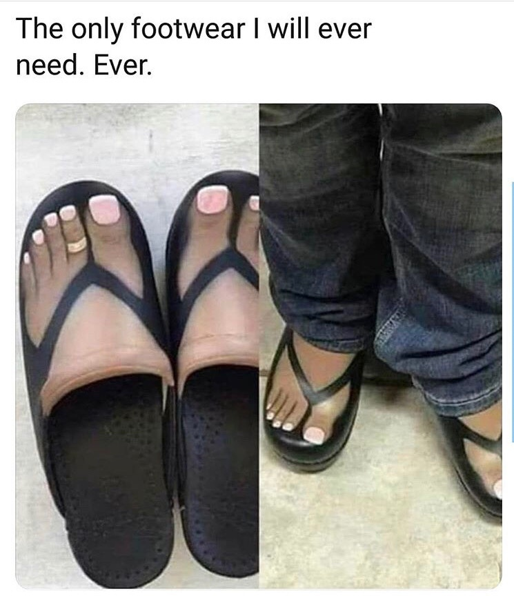 When you don't go to the nail salon all winter - meme
