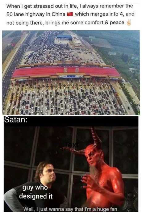 Highway to Hell - meme