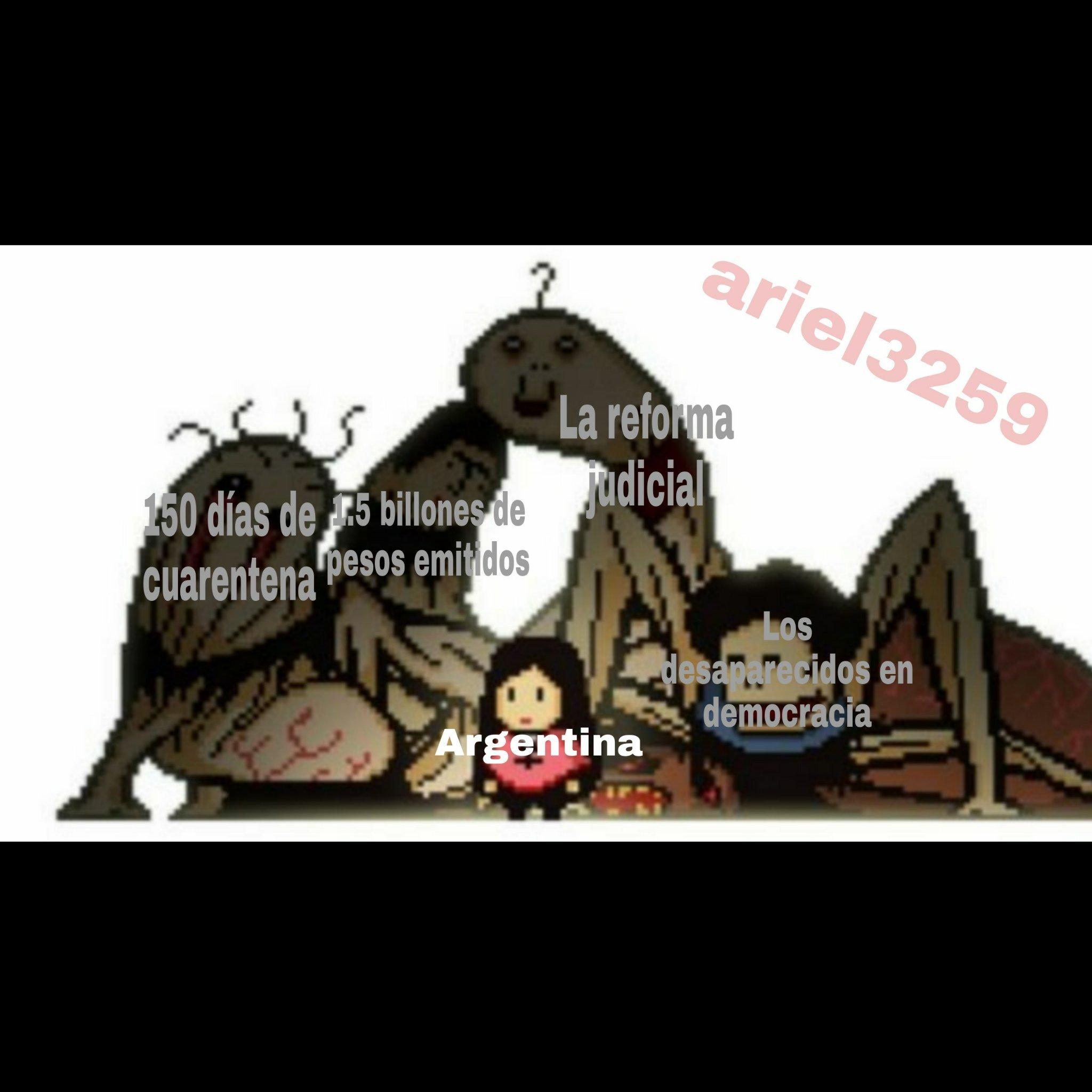 Mientras tanto en Peronistan - meme