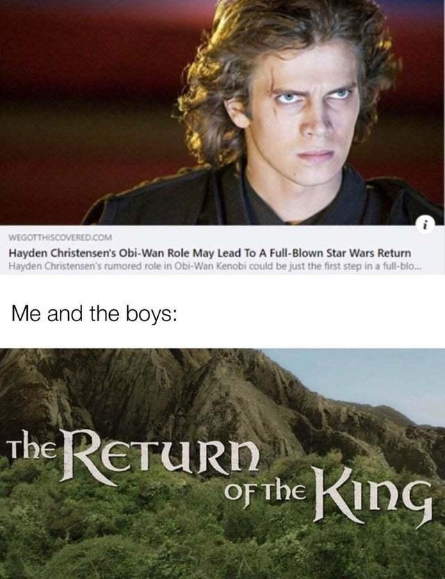 The Return of the King - meme