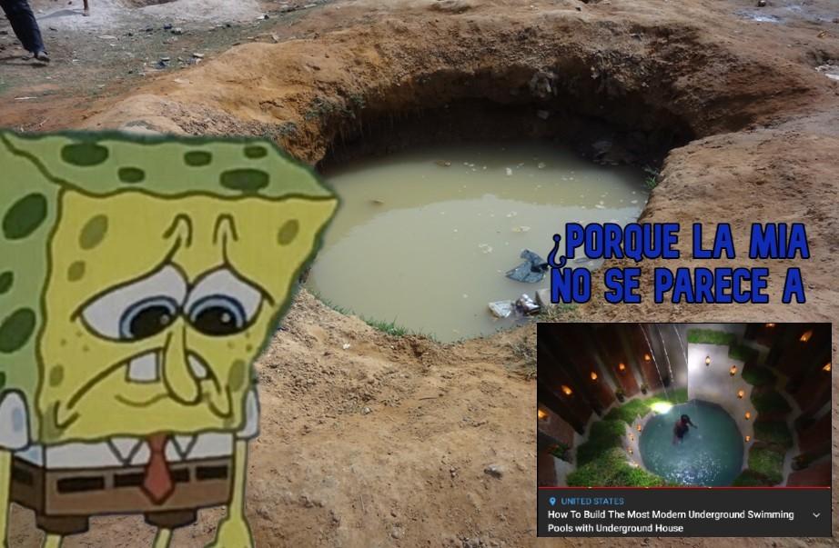otro meme de bobo esponja