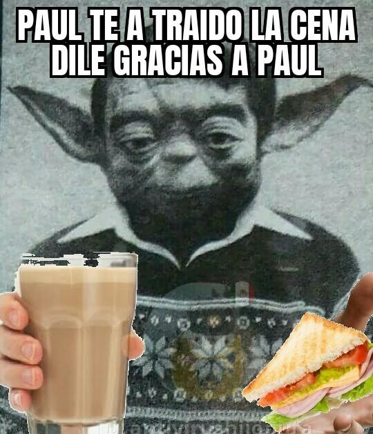 Gracias paul - meme