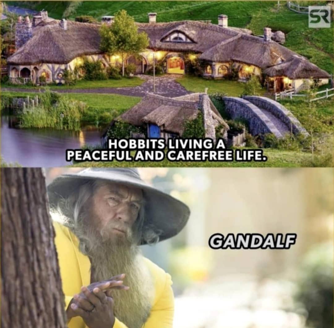 Gandalf le fourbe - meme