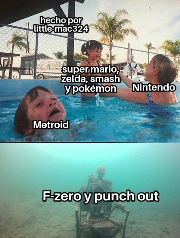 llevo bastante esperando otro punch-out - meme