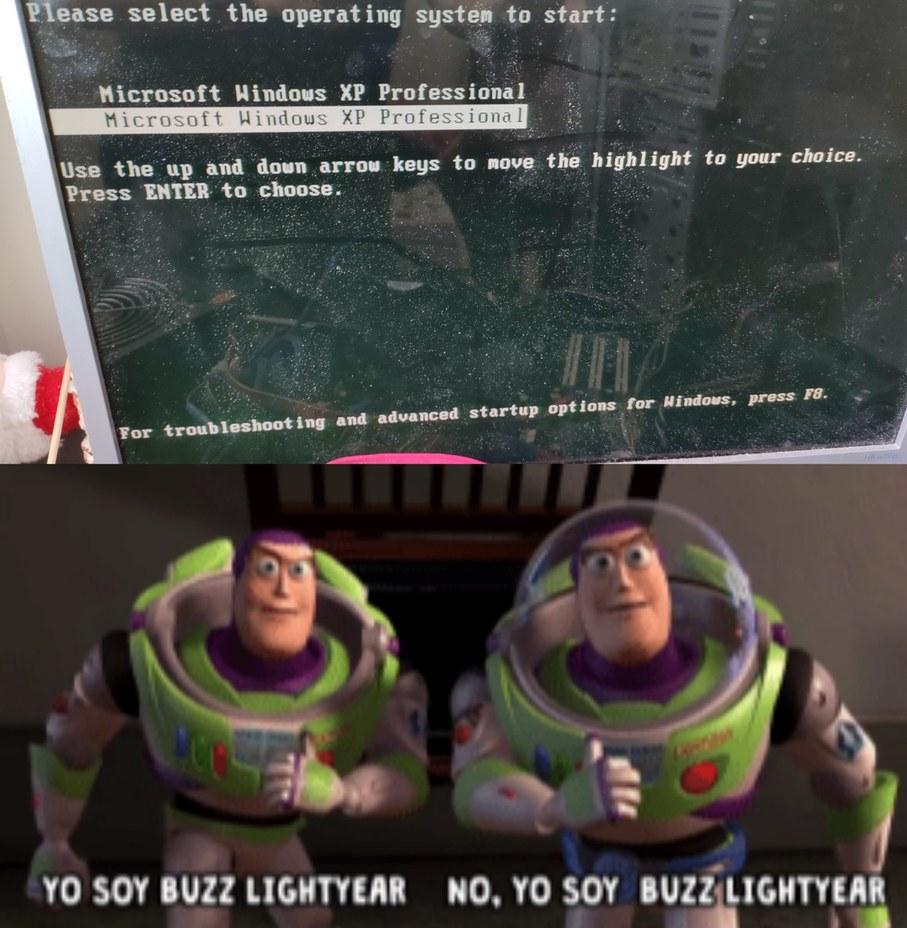 Windows xp - meme