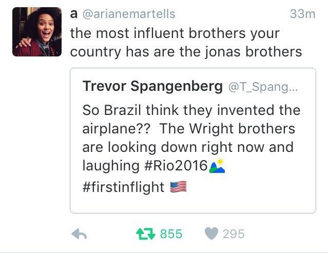 Brasil destruindo os americanos de novo - meme