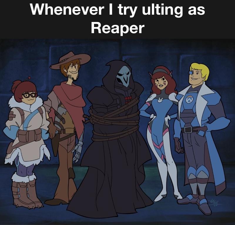 where is Scooby Doo? - meme