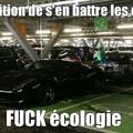 Vive l'écologie