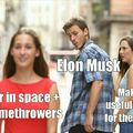 Musk approved