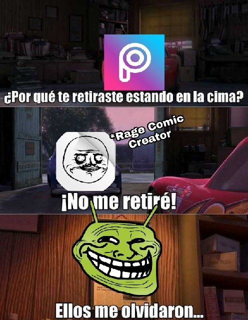Rage Comic :`c - meme