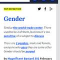 Bi gender queer magical pony female transgender. But does that mean boy or girl?