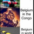 Belgium= belgique non mais comme ça on peut pas RÂLER comme quoi je traduit pas
