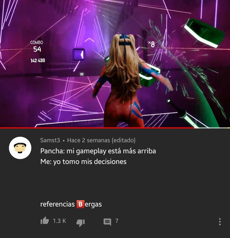 (La YouTuber es: PanchaSky) - meme