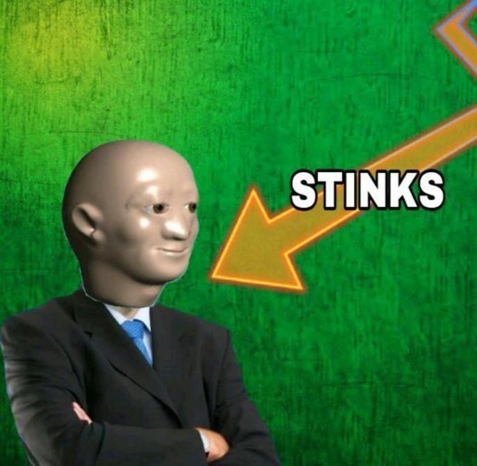 Stinks (no es mío) - meme