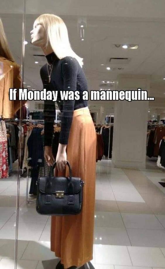 Monday, No Fun-day. - meme