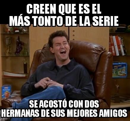 Chandler M Bing - meme