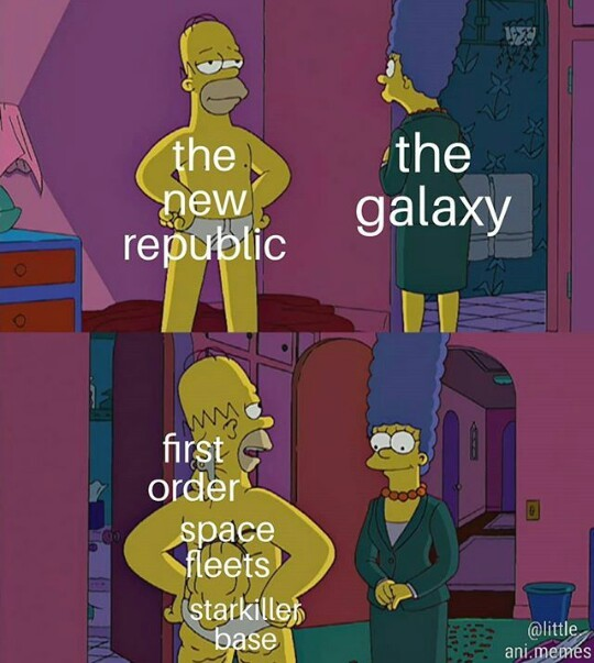 In the name of the intergalactic Senate of the Republic - meme
