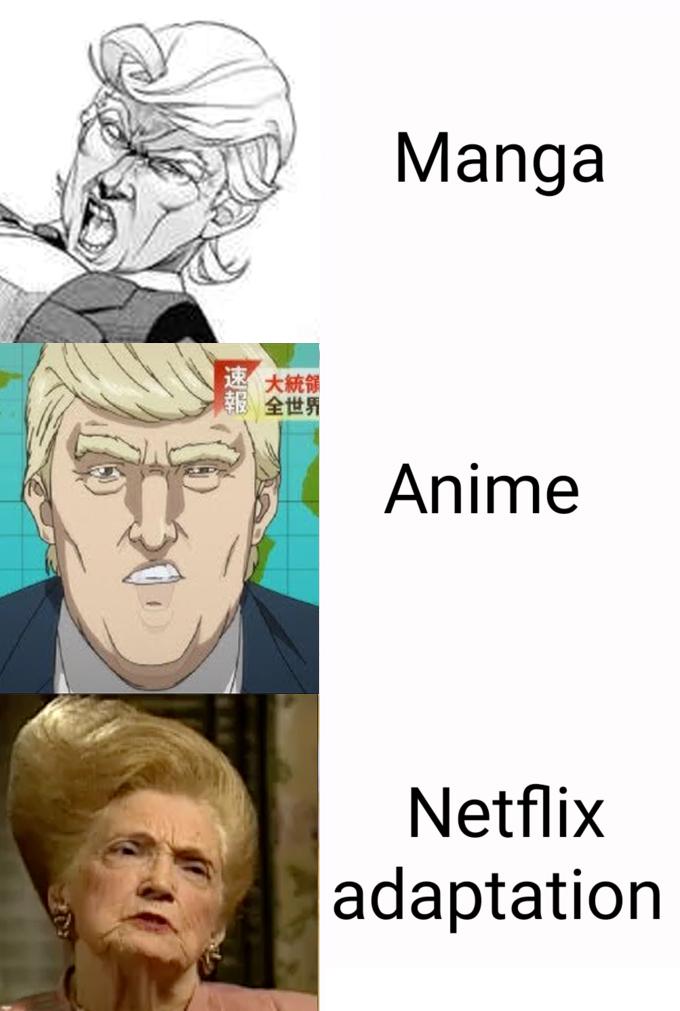 Make Netflix Great Again - meme