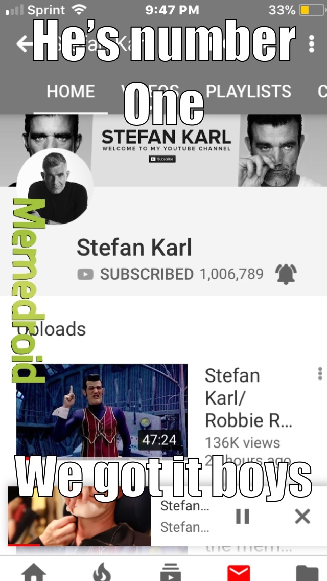 WE DID IT, WE REACHED 1 MIL - meme