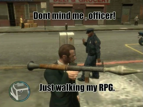 GTA logic - meme