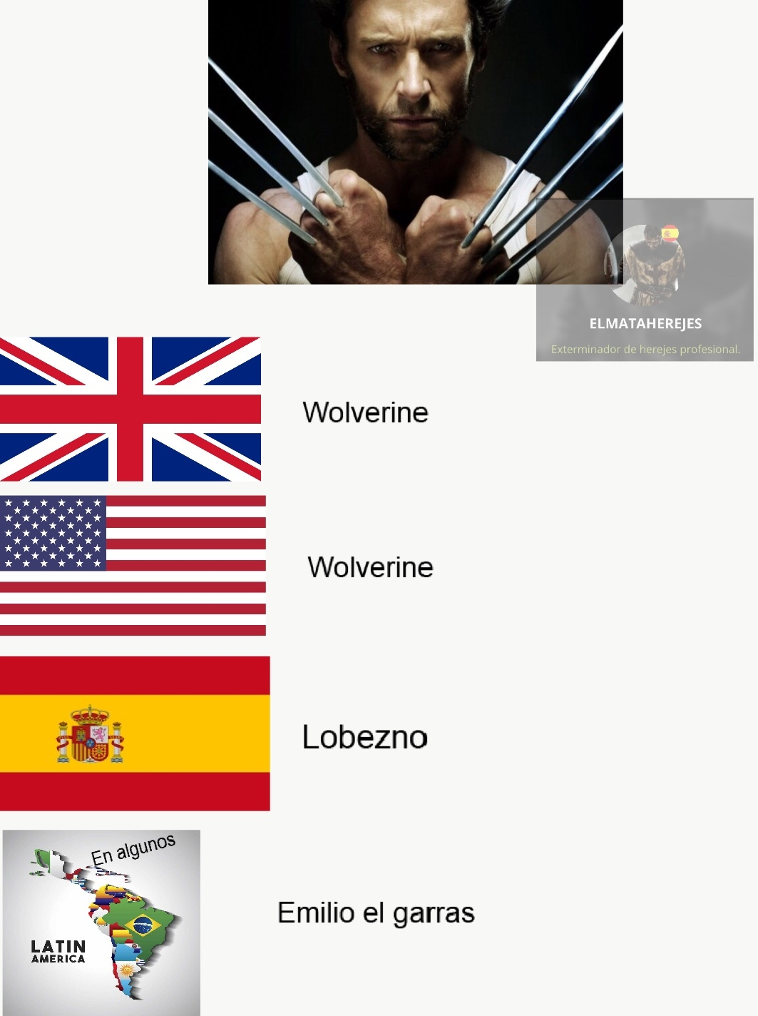 Compañeros de malas traducciones - meme
