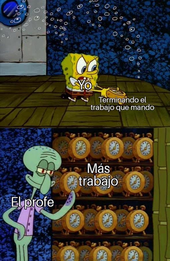 Odio la vida - meme