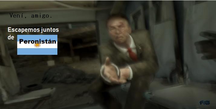 República bolivariana de Peronistán. PTMadre tenía el Motion Blur puesto el HDP del video. - meme