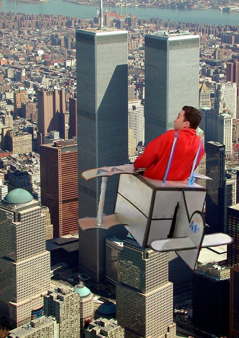 El causante de las torres gemelas(perdonen la calidad de rui torres) - meme