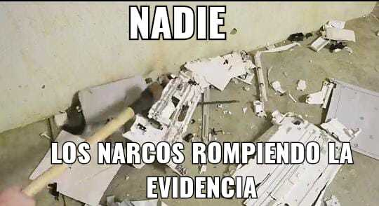 Faraon narco - meme