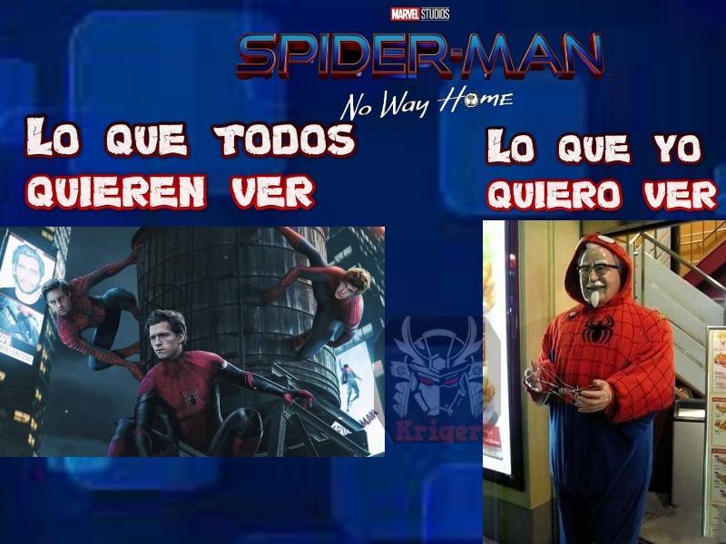 KFC en el Spider-verso : ¿A quien no le gustaría? - meme